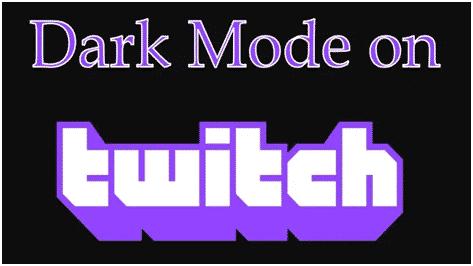 Twitch-Dark-Mode