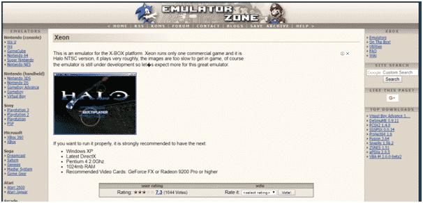xeon-emulator