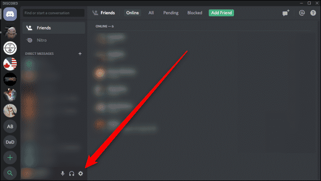 Discord Settings Push To Talk