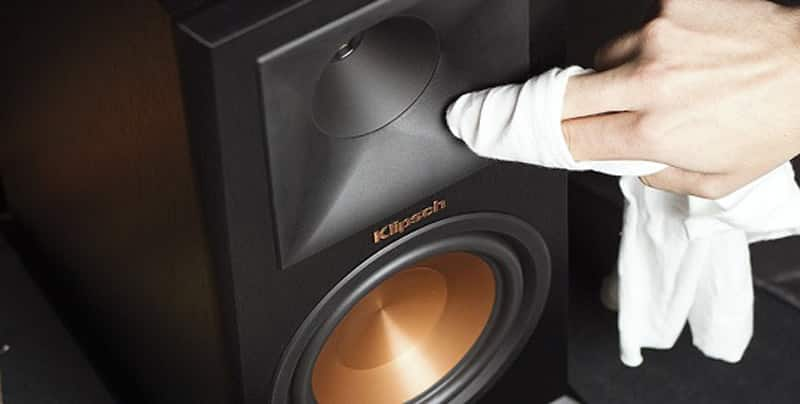 cleaning speakers