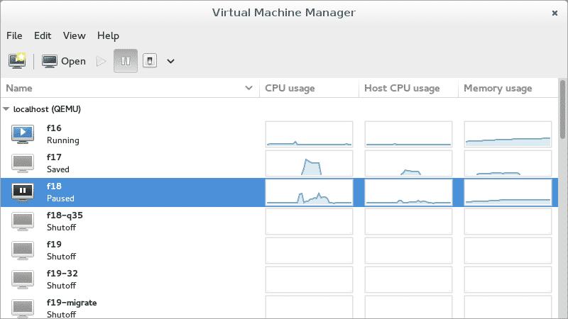 Virtual Machine for Linux