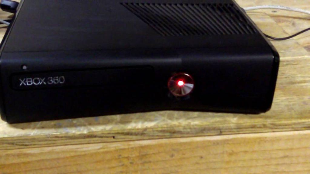 blinking light of xbox 360