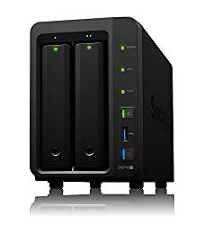 Synology media server 2 bay NAS disk station